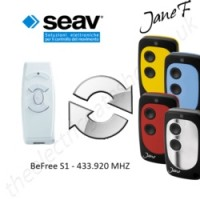 seav gate remote 433.920mhz, replaced by jane f remote.
