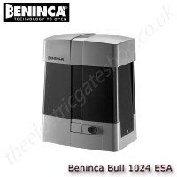 beninca bull1024esa / bull1024esa.s - 24vdc motor for sliding gates weighing upto 1000 kg