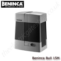 beninca bull15m/15m.s - 230vac motor for sliding gates weighing upto 1500 kg