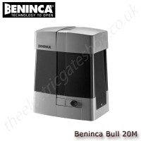 beninca bull20m / bull20m.s 230vac motor for sliding gates weighing up to 2000 kg, industrial use, supplied with control unit and integrated receiver