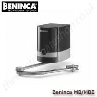 beninca mb/mbe electromechanical operator, 230vac for swing gates upto 2.5 m, with or without built-in control