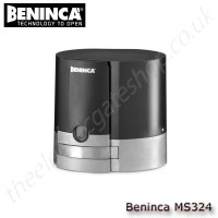 beninca ms324 24vdc motor for sliding gates weighing upto 300 kg, for residential use, supplied with control unit and integrated receiver