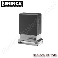 beninca ri.15m 230vac motor for sliding gates weighing upto 1500 kg. for industrial and intensive use.