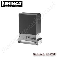 beninca ri.20t 400vac motor for sliding gates weighing upto 2000 kg. for industrial use.
