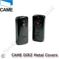 came dirz dir-z2 metal covers for dir wired safety photocell sensors, the cast aluminum alloy covers will give impact protection for the dir series of safety sensors.