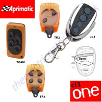 cl-one all for one remote, aprimatic tr2, tr4, tg4m gate key fob. the cl1 chrome finished remote replaces the remotes listed, and features 1-4 button and easy change battery.