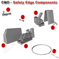 safety edge components for cmo certified safety edge