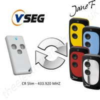 VSEG Gate Remote 433.920MHZ, Replaced by Jane F Remote.