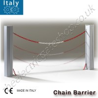 chain barrier from italy, high quality automatic chain barrier perfect for unobtrusive entry barriers. 