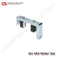 adjustable single roller set for sliding gates, top mounted to ensure gate stays upright.