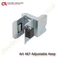 heavy duty adjustable keep for sliding gates. the moving keep caters for many gates big and small with integrated rollers for smooth seating on finish.