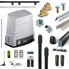 electric sliding gate kit package (800kg) | roger technology bh30/806 automation kit