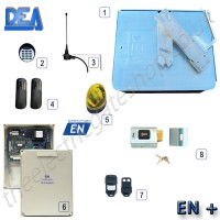 dea ghost sub 200 single gate kit, to suit wings up to 4.0m