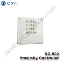 cdvi dg502 standalone 2 door controller, with 500 user capacity.