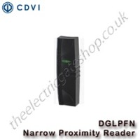 CDVI narrow proximity reader, DGLPFM with polycarbonate casing and tri-coloured LED's