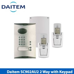 dual property, external powered, with keypad