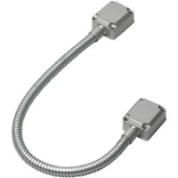 door / gate protective cable loop.