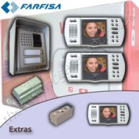 farfisa video intercom for 2 properties