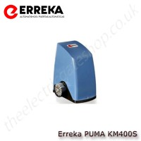 erreka puma km400s - 230v electromechanical operator for sliding gates up to 400kg