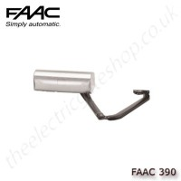 faac 390 24v, electro-mechanical operator with articulated arm, for swing gates up to 1.8m per leaf