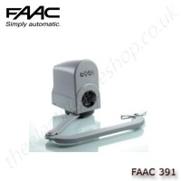 faac 391, electro-mechanical operator with articulated arm, for swing gates up to 2m per leaf