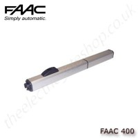 faac 400 cbc, hydraulic operator for swing gates up to 2.2m per leaf
