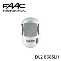 FAAC DL2 868SLH Remote Control, replaced by FAAC XT2 868SLH Remote.