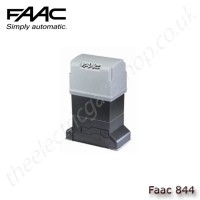faac 844 r rf, gearmotor for sliding gates with max weight of 1,800kg (for chain applications with idle transmission)