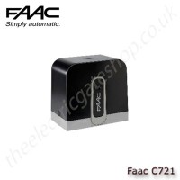 faac c721, low-voltage gearmotor for sliding gates with max weight of 800kg.