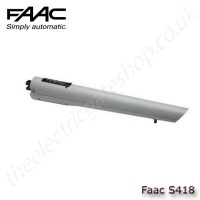 faac s418, electro-mechanical operator for swing gates up to 2.3m per leaf (2.7m withh electric lock)