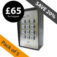 stainless steel dk2850 keypad (pack of 5)