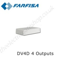 aci farfisa dv4d signal video distributor