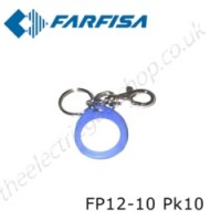 aci farfisa fp12-10 proximity key holders for rfid.