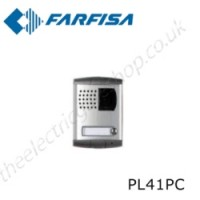 aci farfisa pl41pc camera element of profilo modular external door station range.