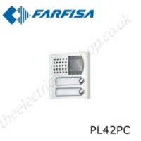 aci farfisa pl42pc camera element of profilo modular external door station range.