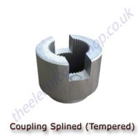 GiBiDi  Coupling Splined for 830 & 824 hydraulic motors only.