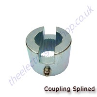 coupling splined for use with gibidi 810 only.