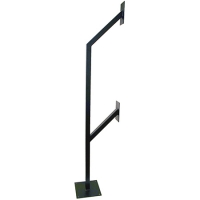 dual mounting posts car/lorry height