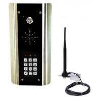 wireless gsm doorphone intercom for single property. no keypad.