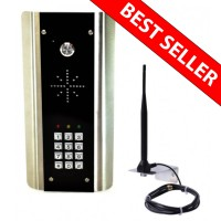 aes gsm5ab wireless gsm intercom with keypad
