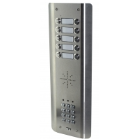 aes gsm5as10 stainless steel wireless gsm intercom