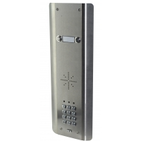 aes gsm5as2 stainless steel wireless gsm intercom