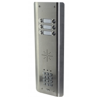 aes gsm-5as6 stainless steel wireless gsm intercom