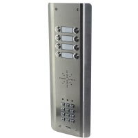 aes gsm-5as8 stainless steel wireless gsm intercom