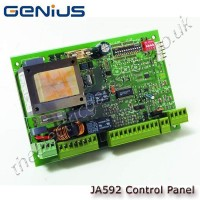 genius ja592 230v twin gate control panel