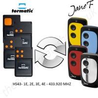 TORMATIC Gate Remote 433.920MHZ, Replaced by Jane F Remote.