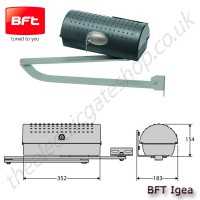 bft igea articulated arm motor