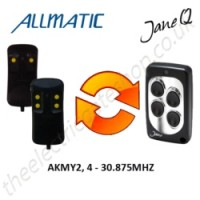 ALLMATIC Gate Remote 40.665MHZ, Replaced by Jane Q Low-frequency Remote.