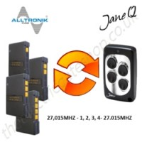ALLTRONIK Gate Remote 27.015MHZ, Replaced by Jane Q Low-frequency Remote.