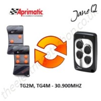 APRIMATIC Gate Remote 30.900MHZ, Replaced by Jane Q Low-frequency Remote.